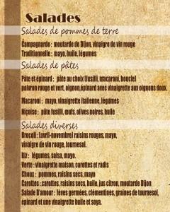 choix salades fin