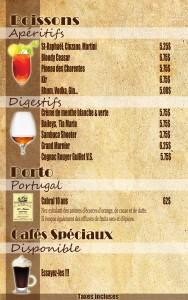 boisson 1avec prix. modi